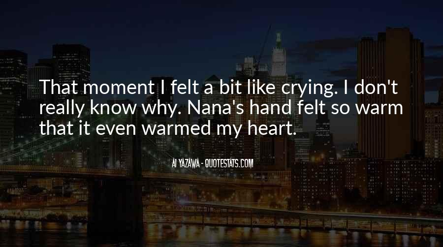Quotes About Crying Heart #558876