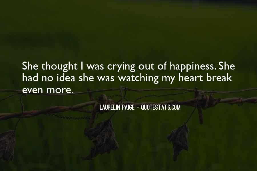Quotes About Crying Heart #607140