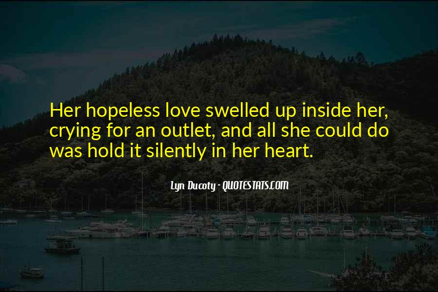 Quotes About Crying Heart #612727