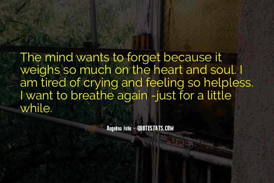 Quotes About Crying Heart #854667