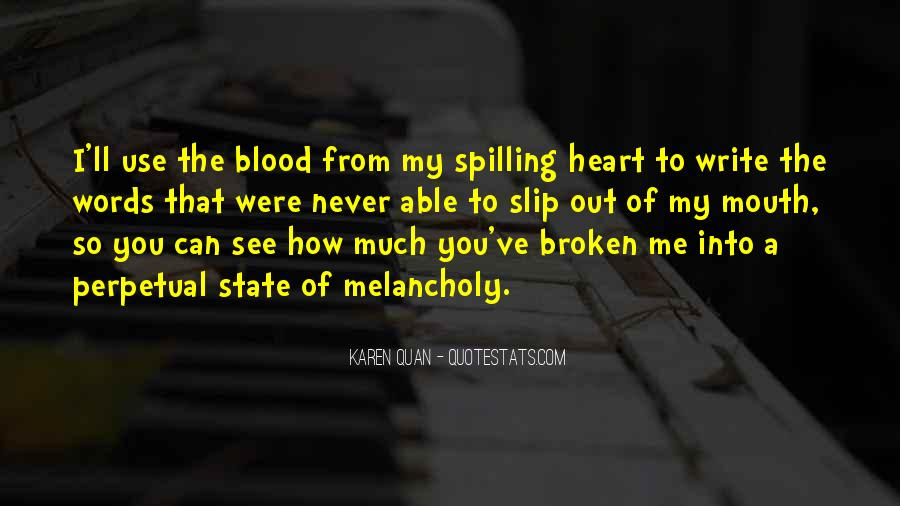 Quotes About Crying Heart #858697