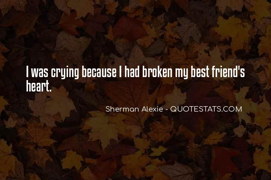 Quotes About Crying Heart #924496