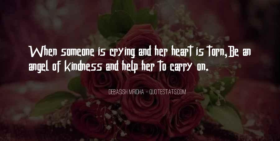 Quotes About Crying Heart #963702