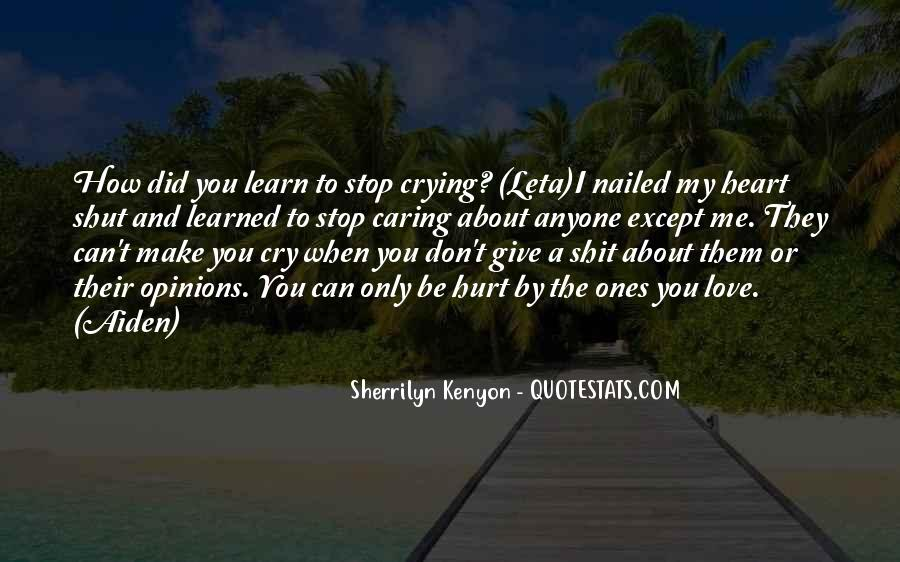 Quotes About Crying Heart #973372