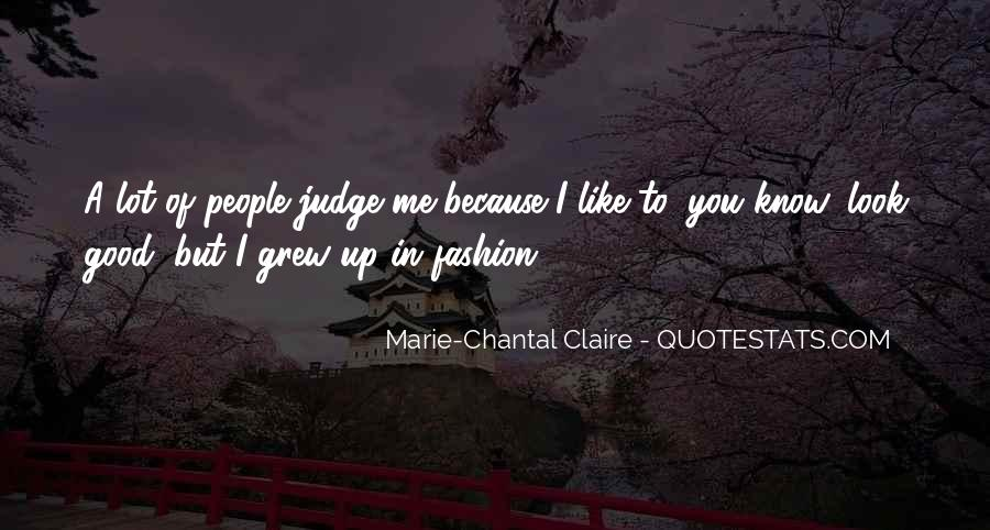 Marie Claire Fashion Quotes #1736997