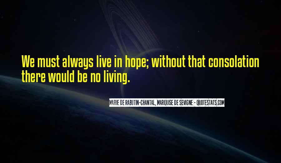 Marie De Sevigne Quotes #1229373