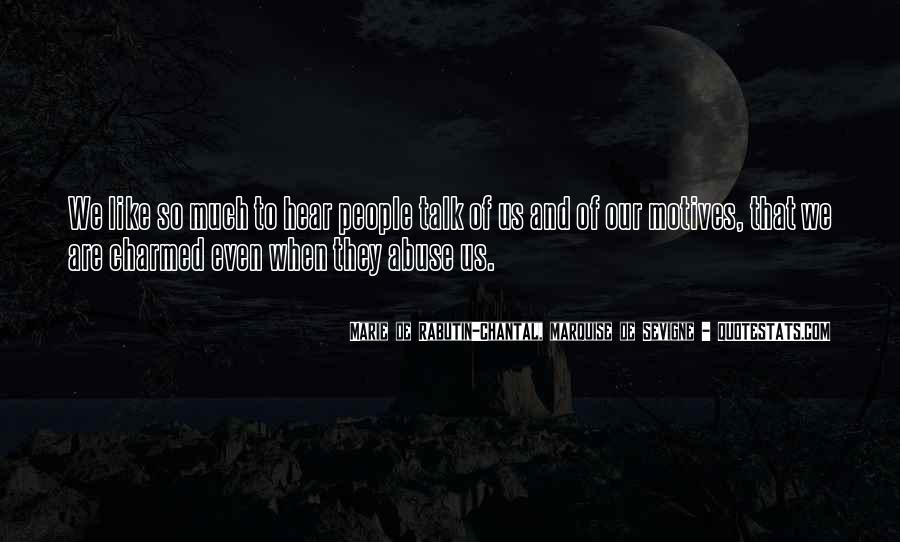 Marie De Sevigne Quotes #1276692