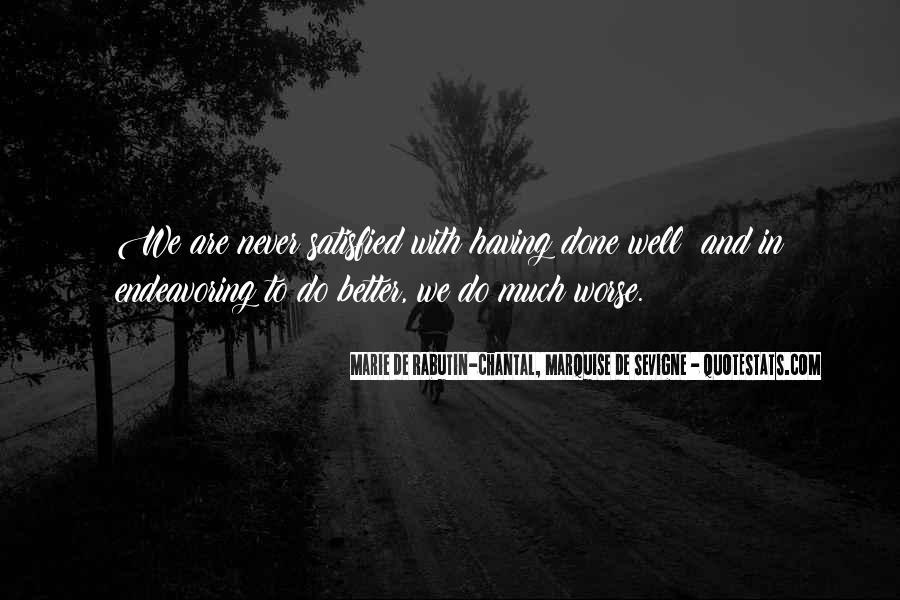 Marie De Sevigne Quotes #1404906