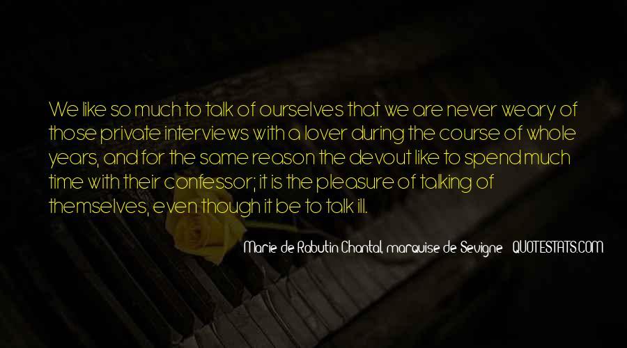 Marie De Sevigne Quotes #1546435