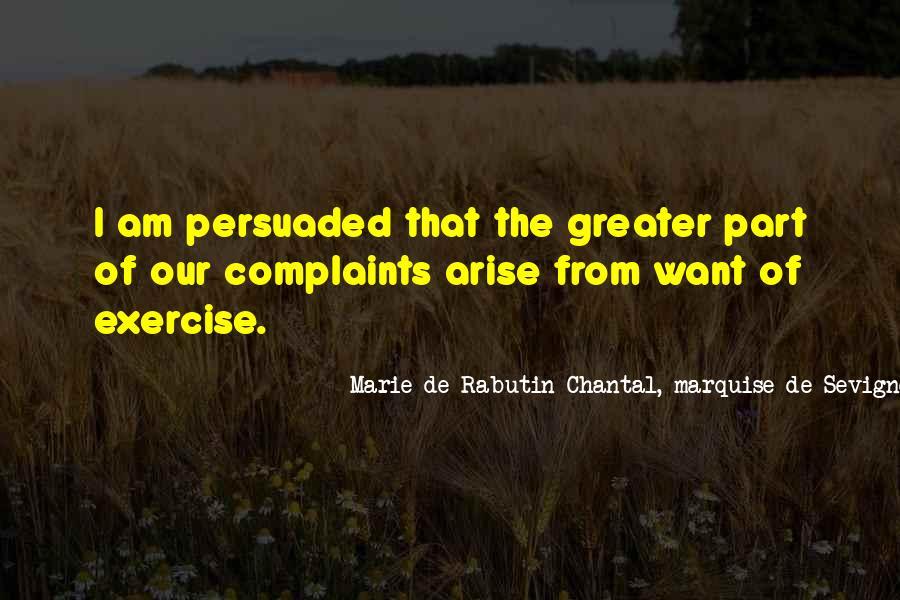 Marie De Sevigne Quotes #1807721