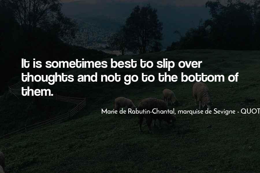 Marie De Sevigne Quotes #199482