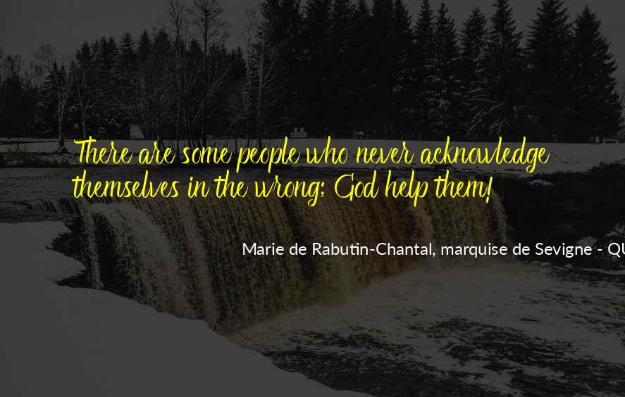 Marie De Sevigne Quotes #20397