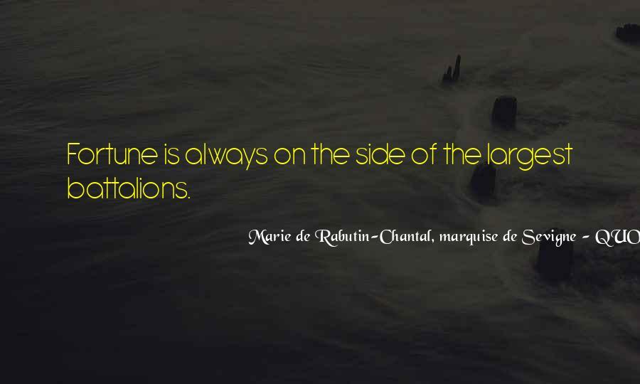 Marie De Sevigne Quotes #264193