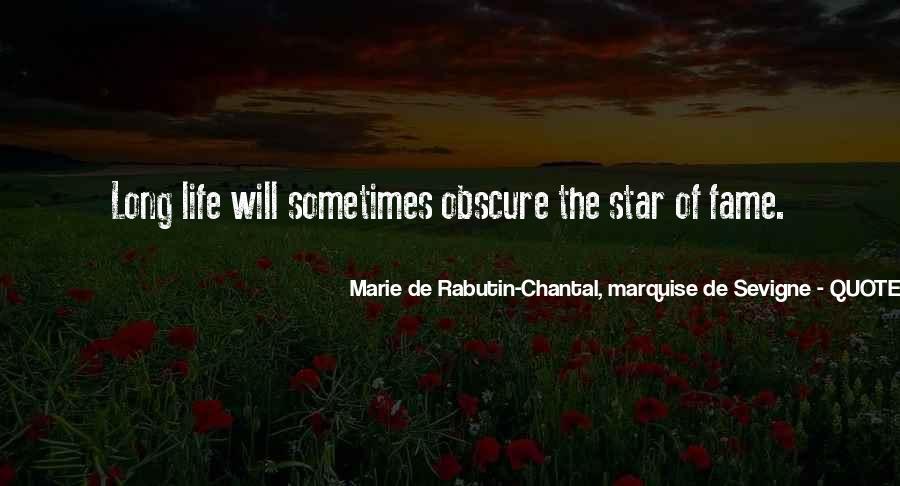 Marie De Sevigne Quotes #442810