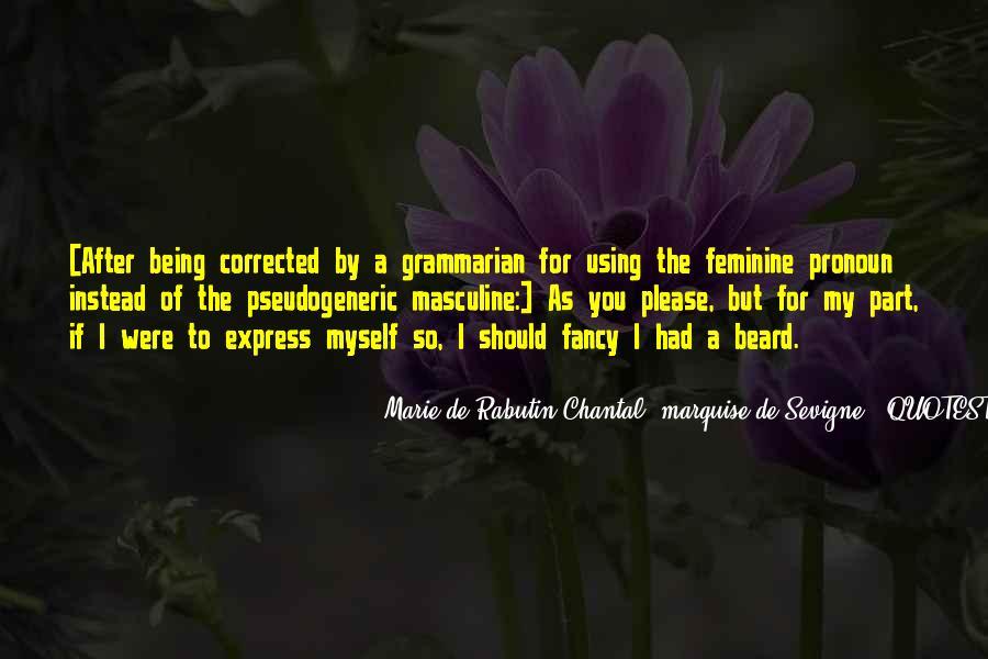 Marie De Sevigne Quotes #548085