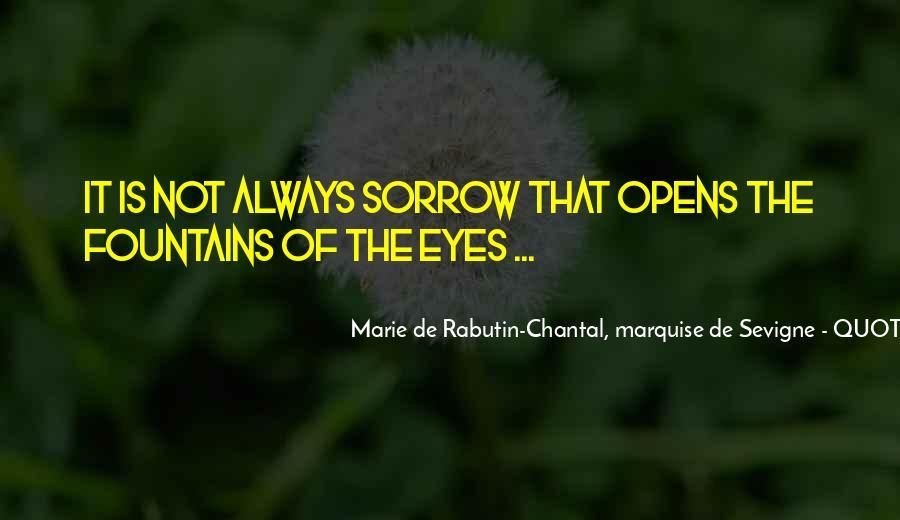 Marie De Sevigne Quotes #675043