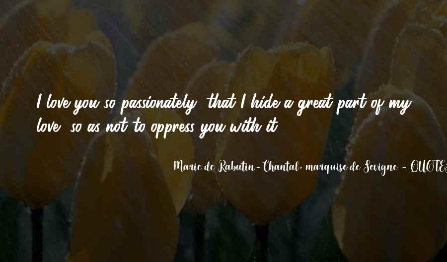 Marie De Sevigne Quotes #855666