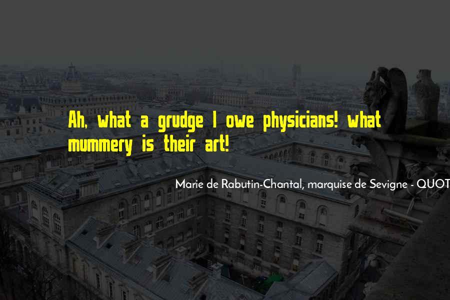 Marie De Sevigne Quotes #881457