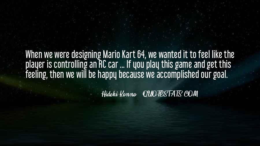 Mario Kart 64 Quotes #1442271