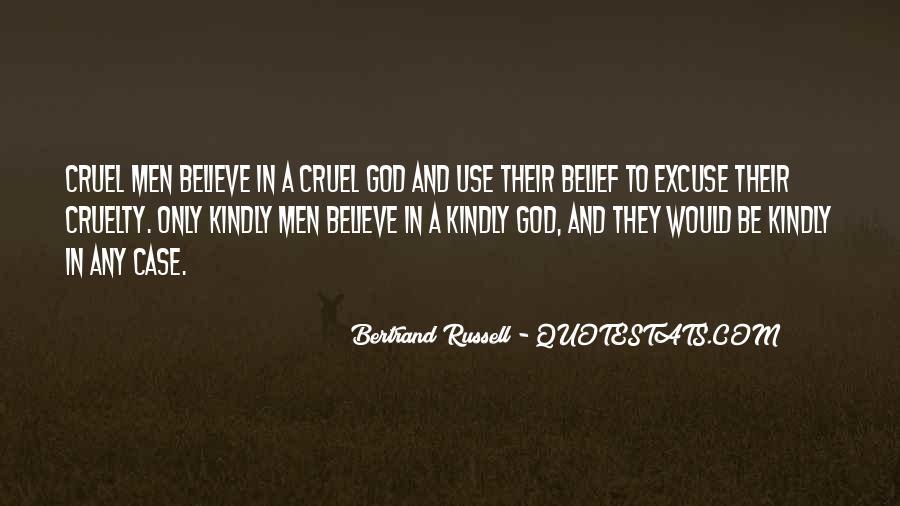 Quotes About Cruel Men #1095698