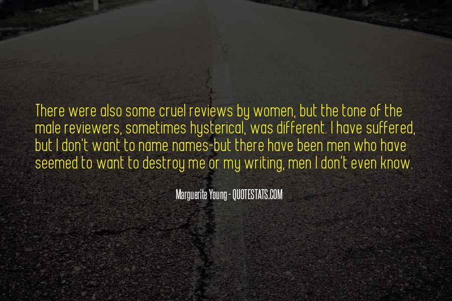 Quotes About Cruel Men #1137765