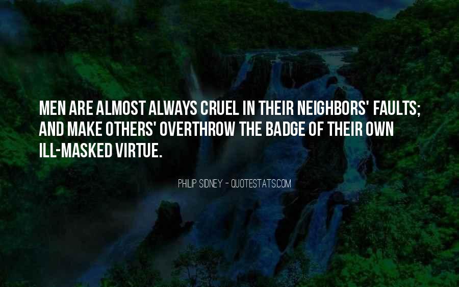 Quotes About Cruel Men #167618