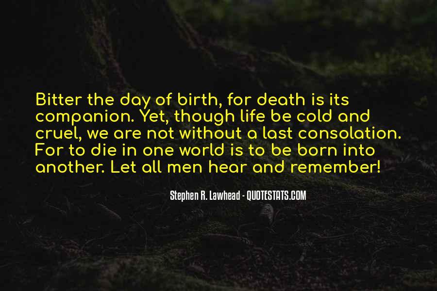 Quotes About Cruel Men #279953