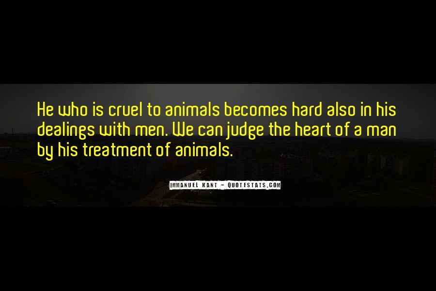 Quotes About Cruel Men #404651