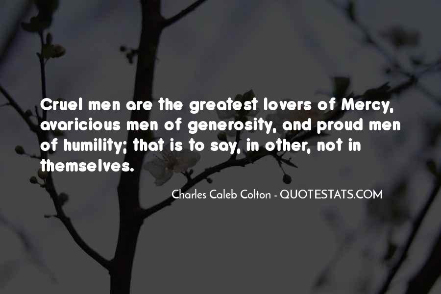Quotes About Cruel Men #861328