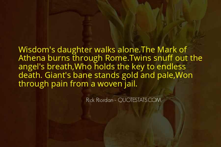 Mark Of Athena Best Quotes #1031242