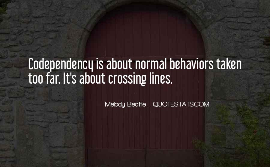 Quotes About Crossing Lines #1339541