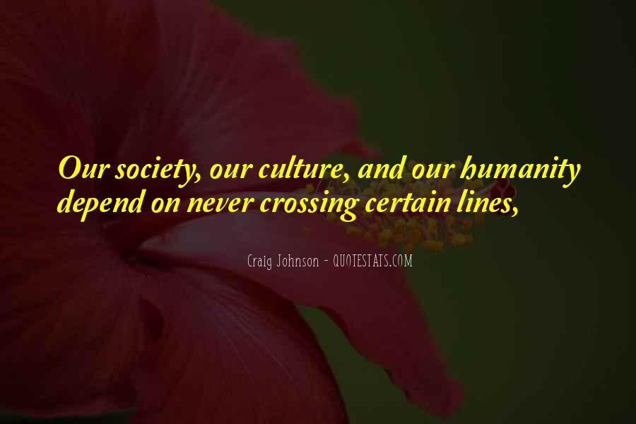 Quotes About Crossing Lines #243080