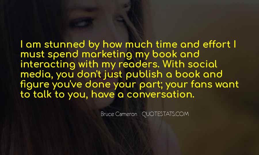 Marketing Spend Quotes #1029885