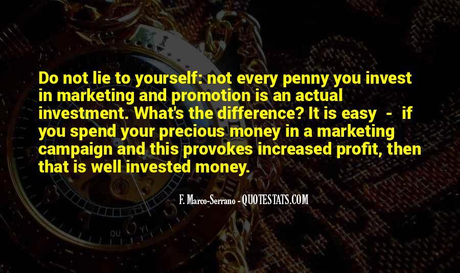 Marketing Spend Quotes #1248987