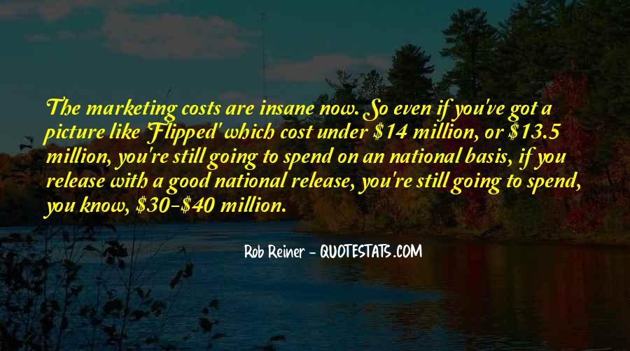 Marketing Spend Quotes #1446279