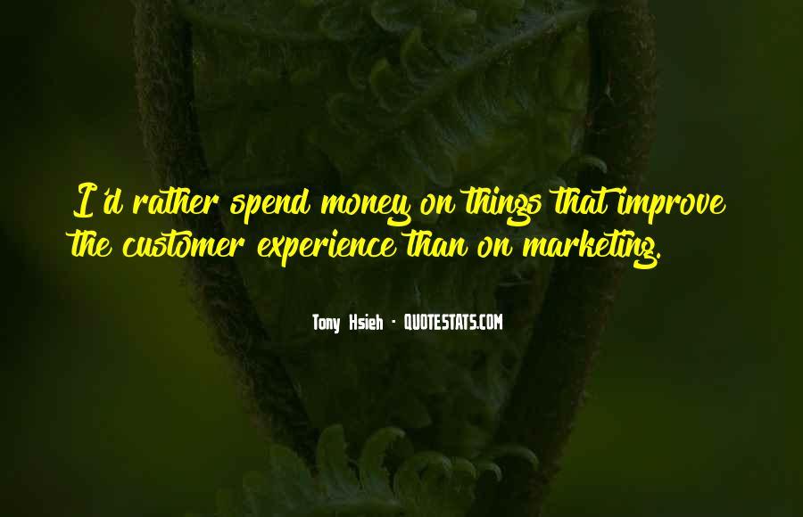 Marketing Spend Quotes #212487