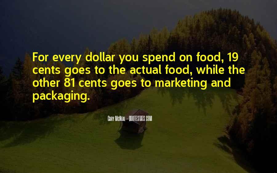 Marketing Spend Quotes #250547