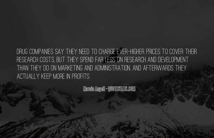 Marketing Spend Quotes #279628