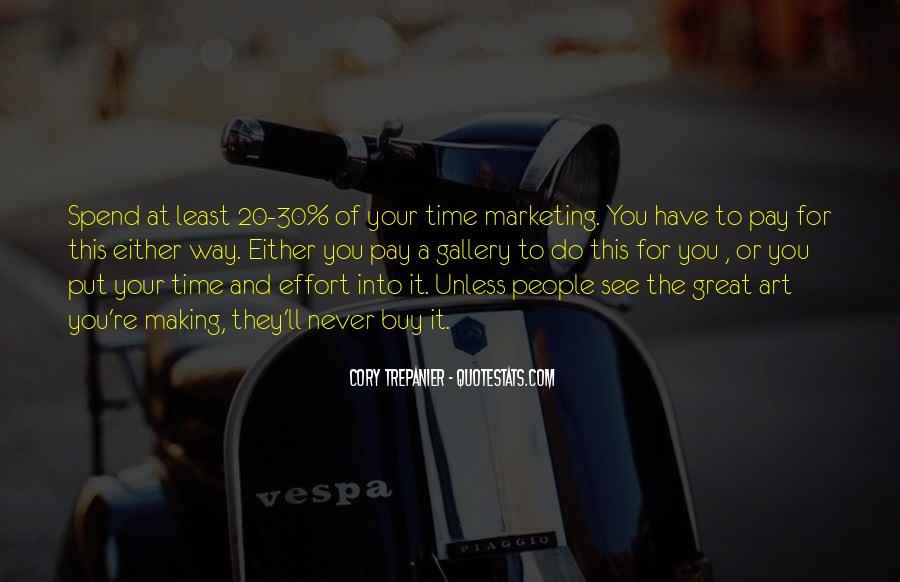 Marketing Spend Quotes #672277
