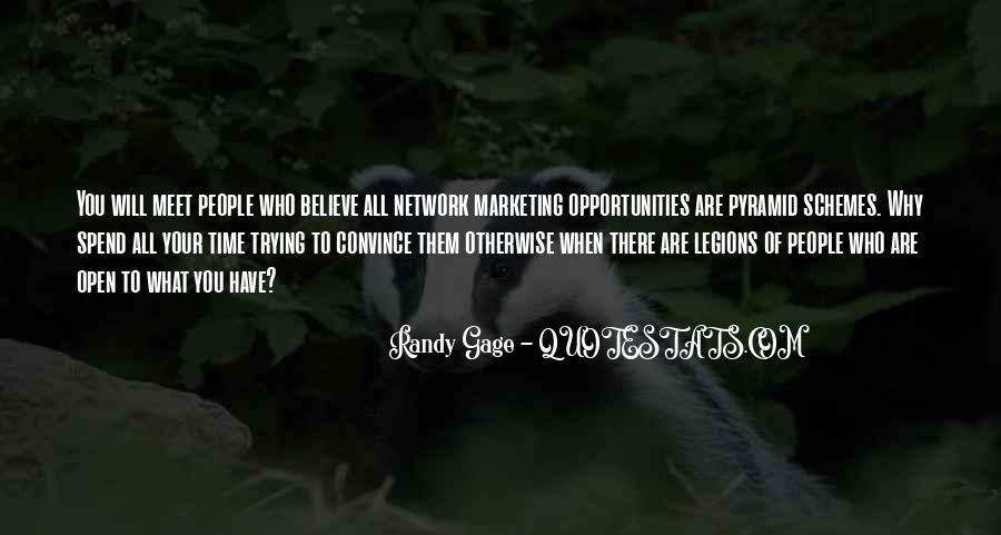 Marketing Spend Quotes #991874