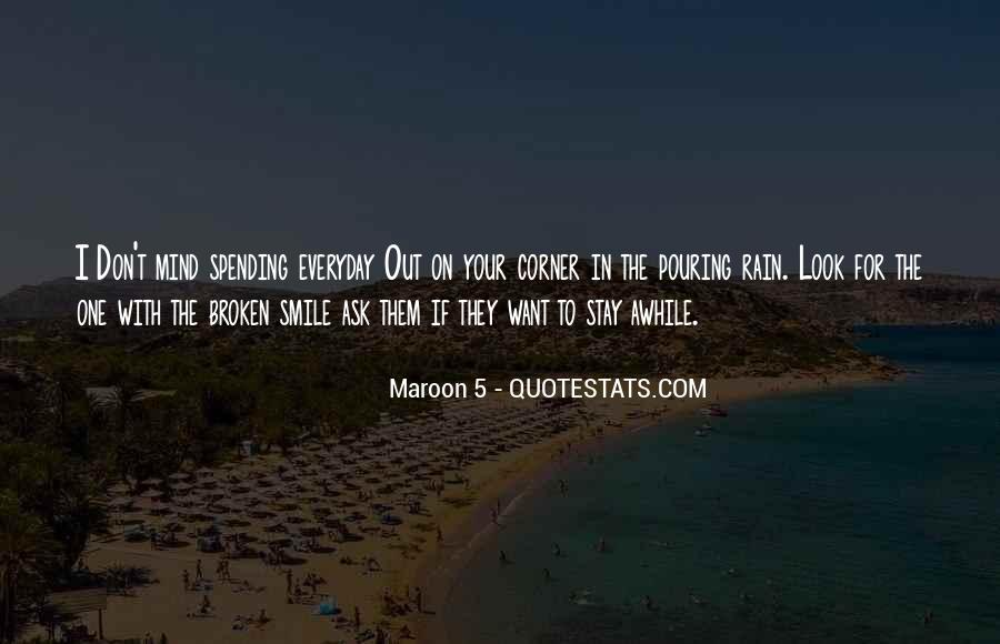 Maroon 5 Song Quotes #1208206