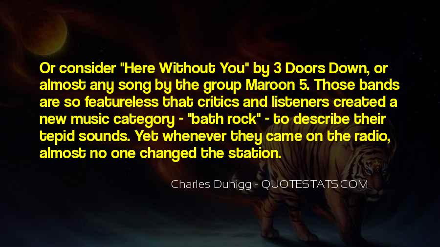 Maroon 5 Song Quotes #1372699