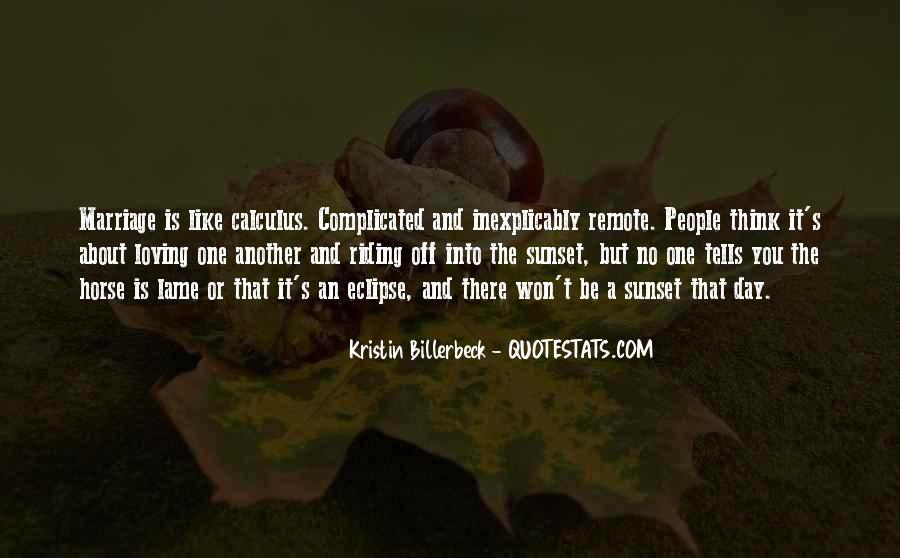 Marriage Is Complicated Quotes #1014748