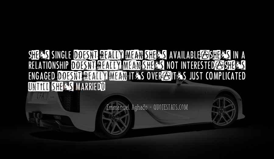 Marriage Is Complicated Quotes #554898