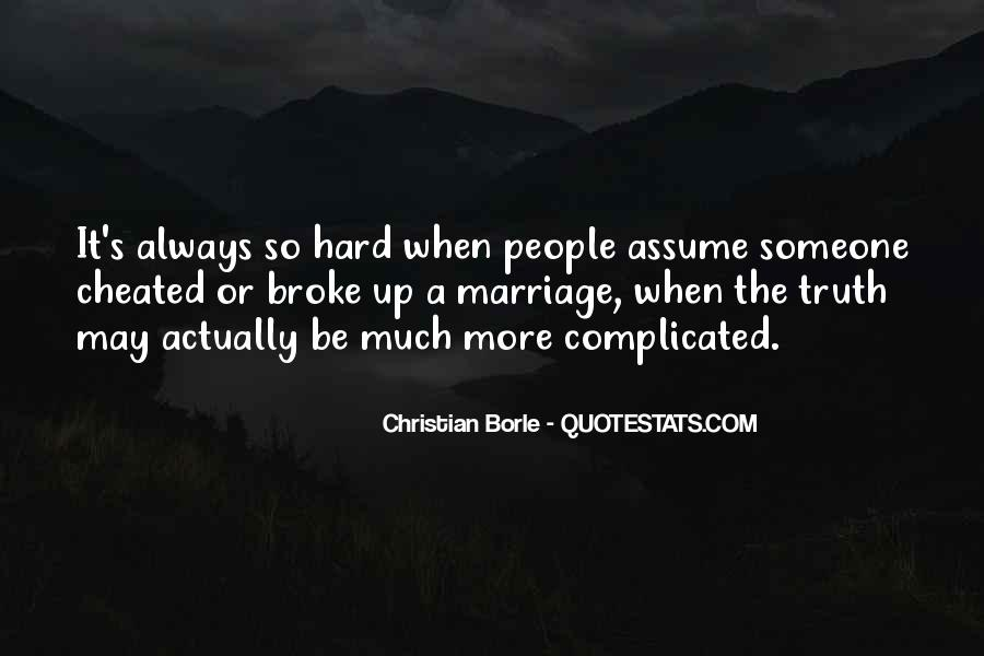 Marriage Is Complicated Quotes #795030