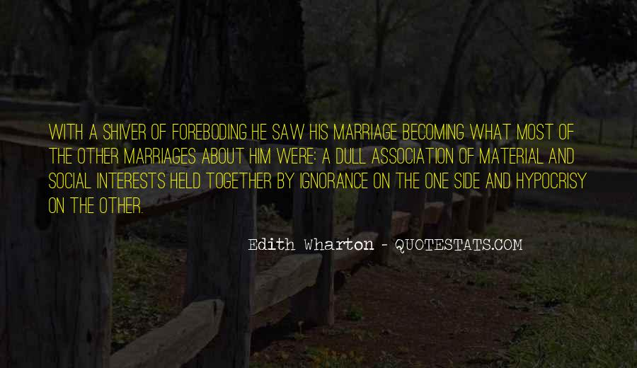 Marriage Material Quotes #1286744