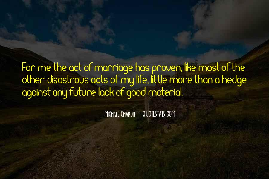 Marriage Material Quotes #714312