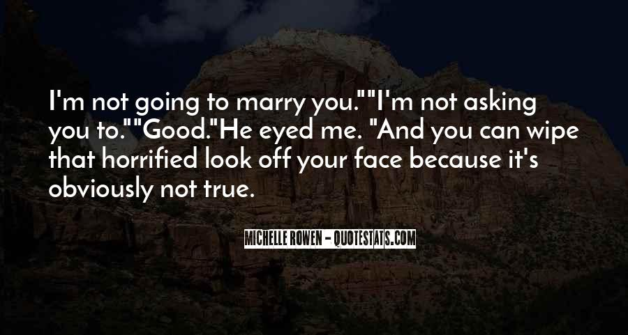 Marry Me Please Quotes #29732