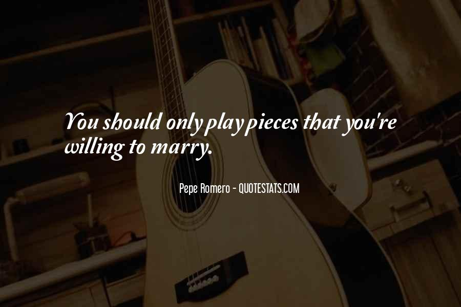 Marry Me Please Quotes #9154