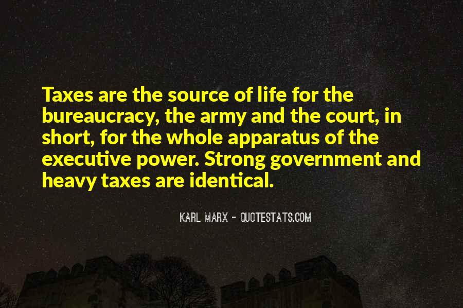 Marx Bureaucracy Quotes #1566218